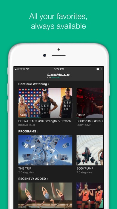 Download LES MILLS On Demand for Pc