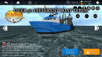 uCaptain: Boat Fishing Game 3Dのおすすめ画像8
