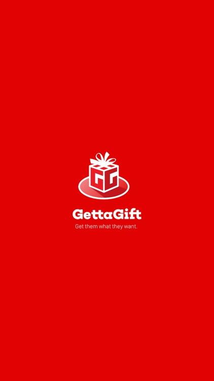 GettaGift Wishlist Gifting app screenshot-0