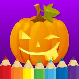 Coloring book : Draw Halloween