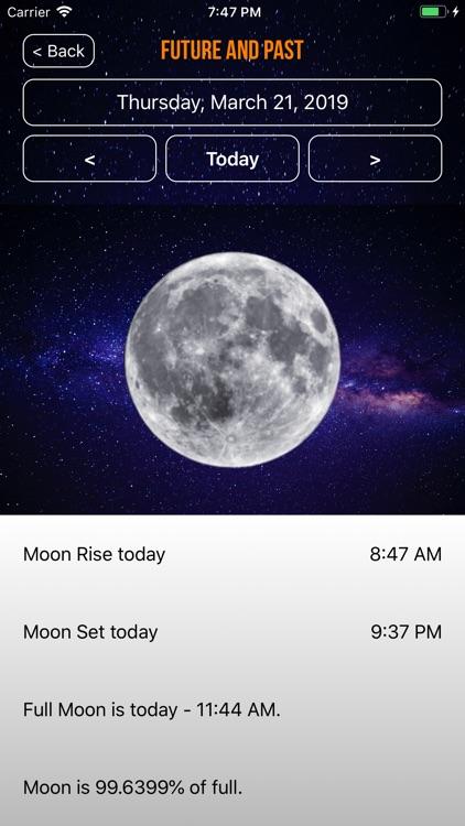 Moon Phase Calendar Plus screenshot-3
