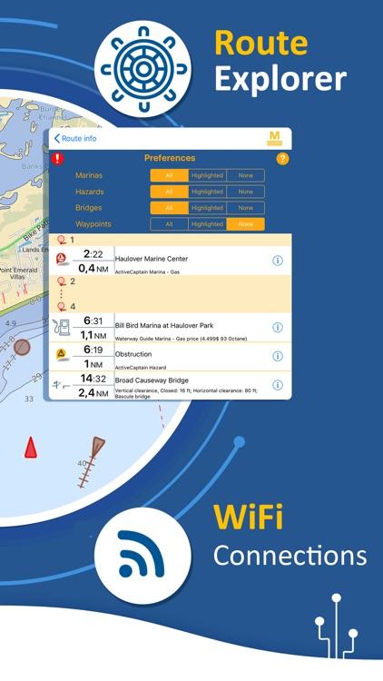 Aqua Map USA: Marine & Lake screenshot-4