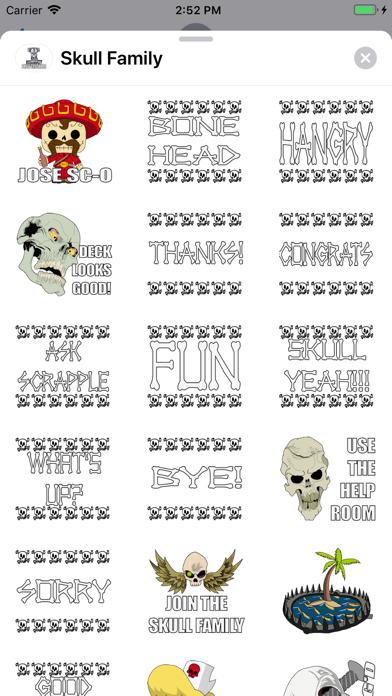 Skull Family screenshot 1