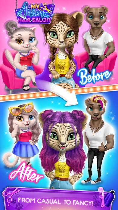 My Animal Hair Salon screenshot 7