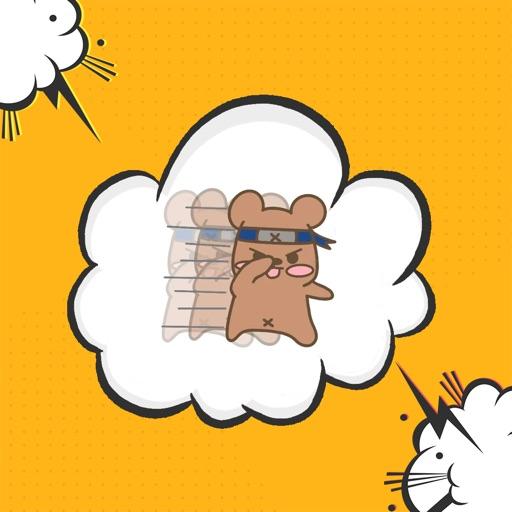 哈喽鼠趣味聊天贴纸