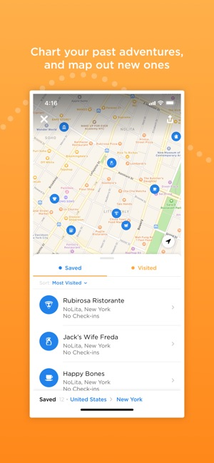 Foursquare Swarm: Check-in App on the App Store