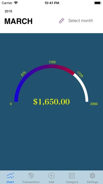 My Budget Track