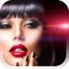 化妆 - 惊人的双唇,双眼