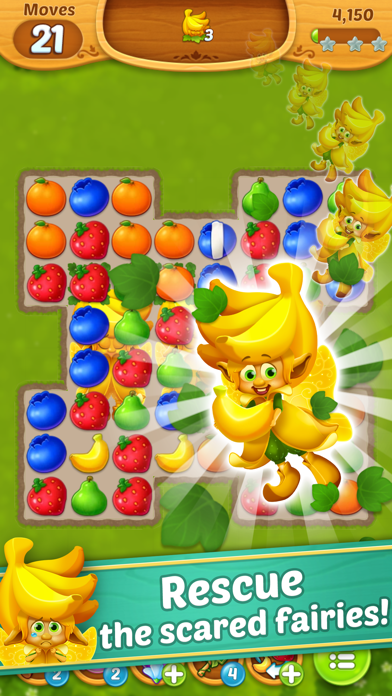 Fruits Mania : Fairy rescue screenshot 3