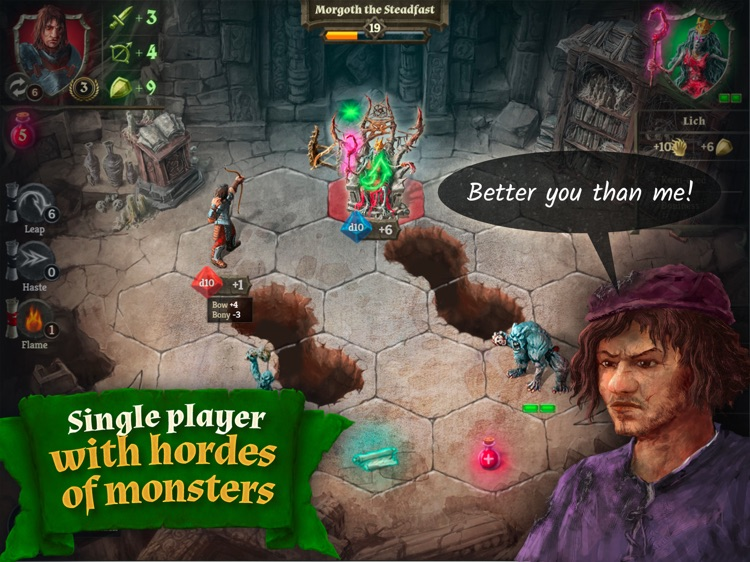 Dungeoneers screenshot-1