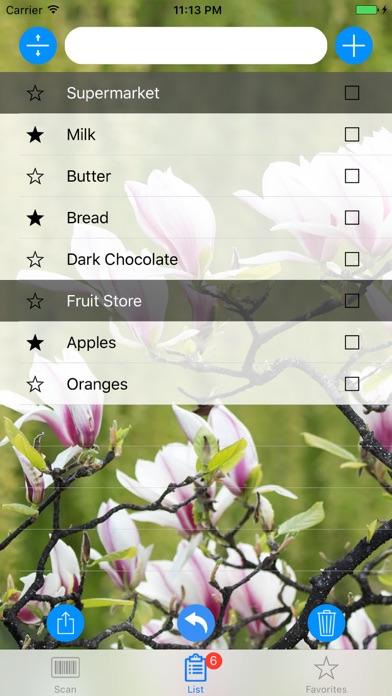 IdeaList & Barcode Scanner Screenshots
