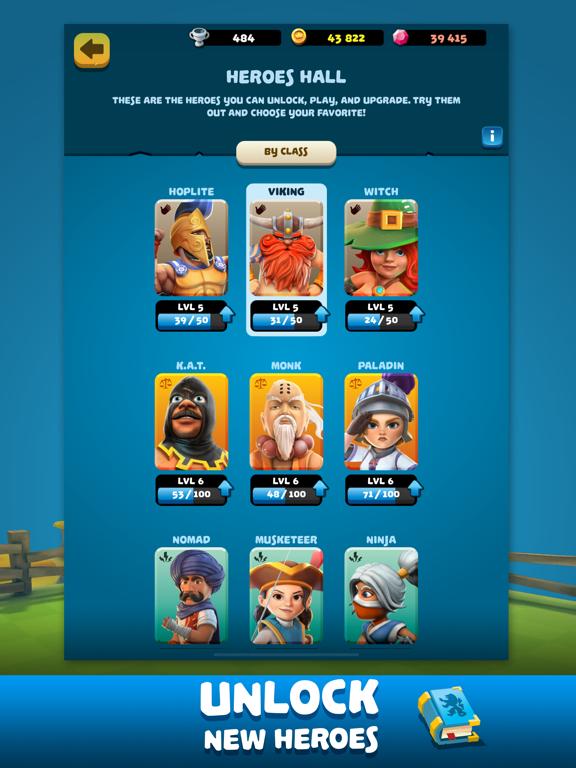 Ipad Screen Shot Knockdown Heroes 5