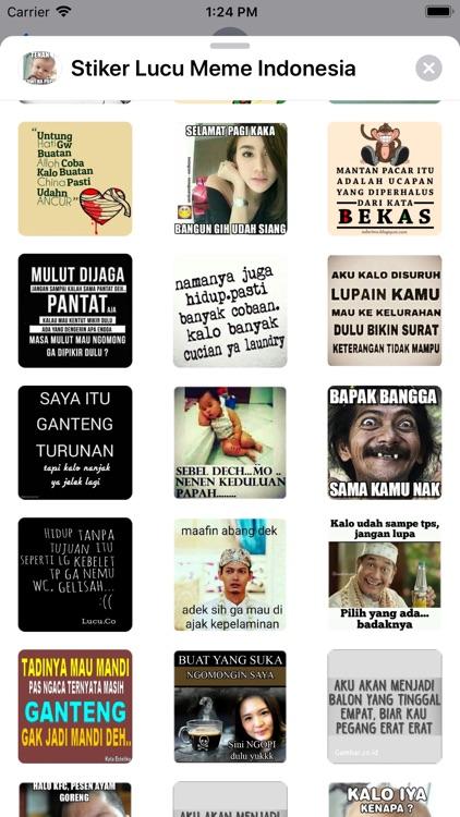 Stiker Lucu Meme Indonesia by El houssaine jebraoui