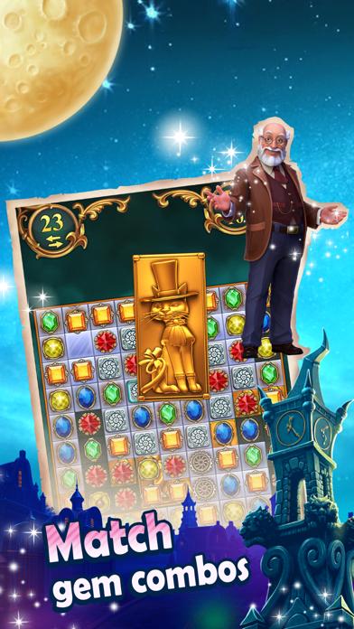 Clockmaker: Match3 Jewel Quest screenshot one