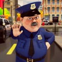 Police Officer Traffic Control