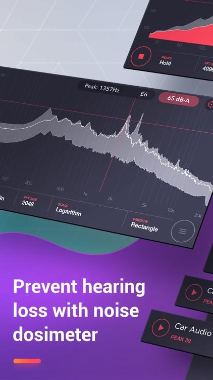 Decibel : dB sound level meter screenshot-3