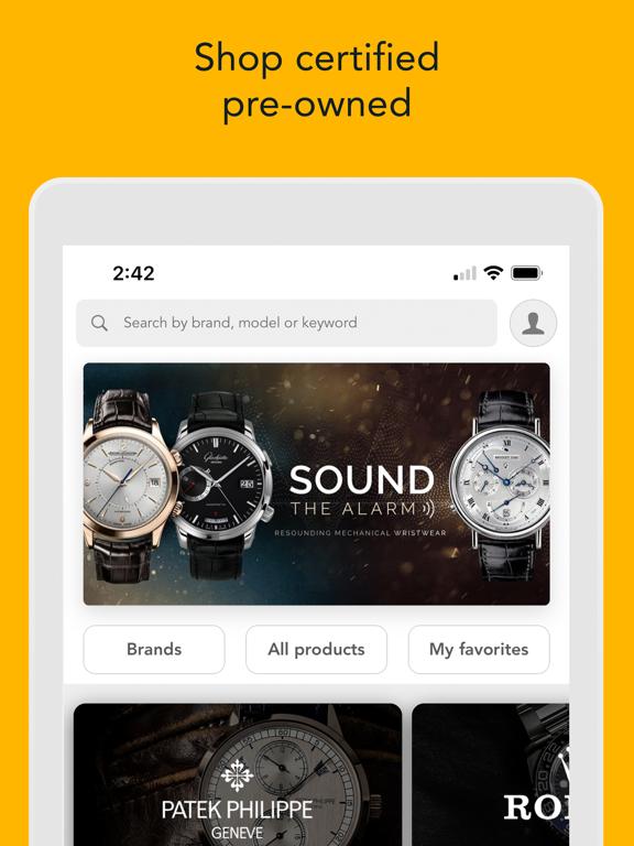 Screenshot #6 pour WatchBox - Buy, Sell & Trade