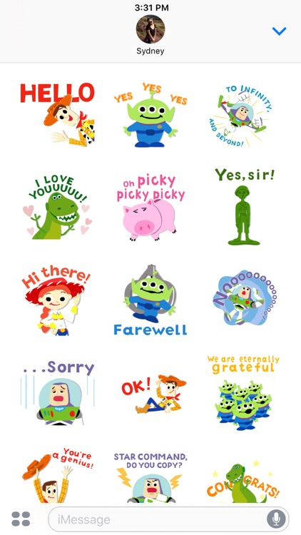 Pixar Stickers: Toy Story screenshot-3