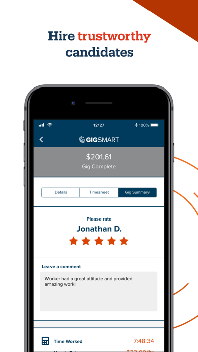 GigSmart Get Workers screenshot
