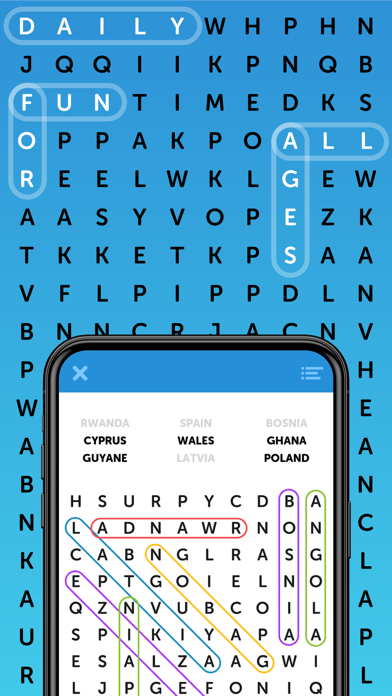 Simple Word Search Puzzles screenshot 5