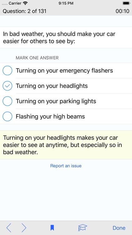 West Virginia DMV Test Prep screenshot-4