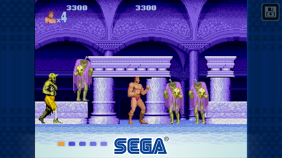 Screenshot from Altered Beast Classic