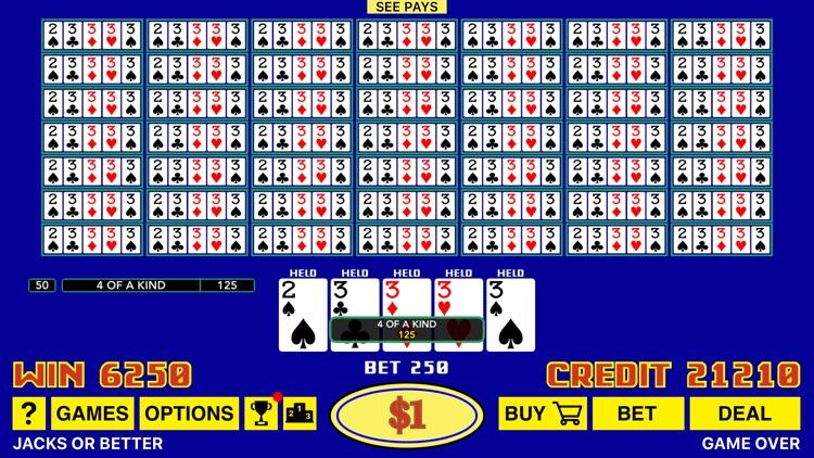 The Classic Video Poker screenshot-5