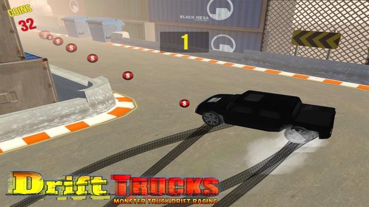 Racing Monster Trucks Drift 3D screenshot-4