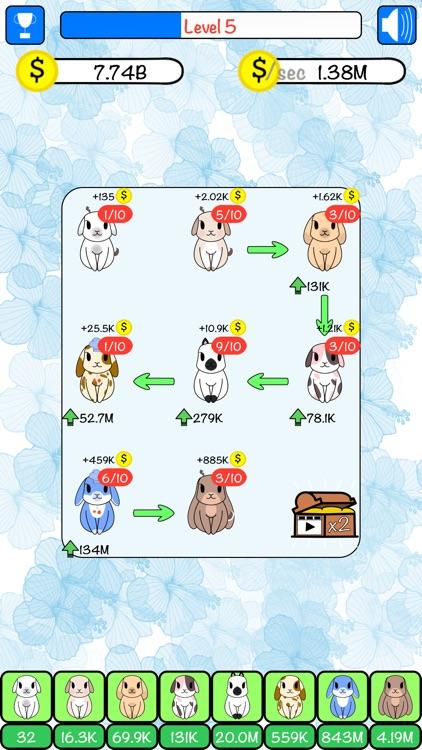 Combo Hares: Upgrade & Combine screenshot-7