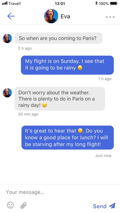 Travel! - Friends & Tips Screenshot