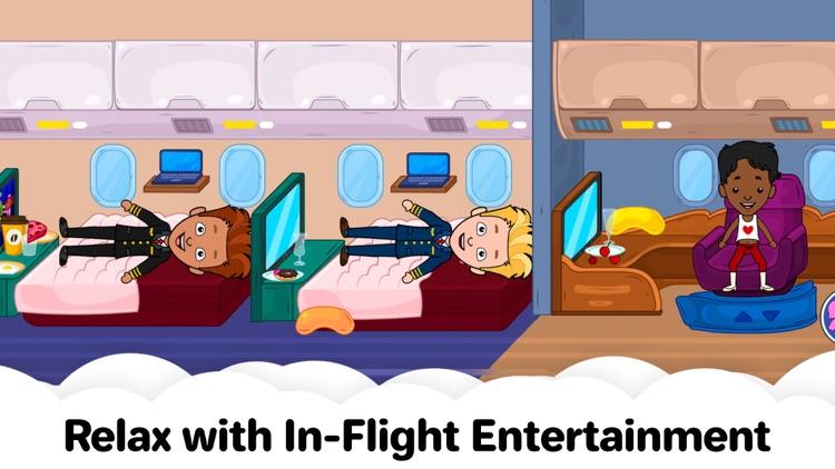 My Tizi Town – Airplane Games screenshot-5