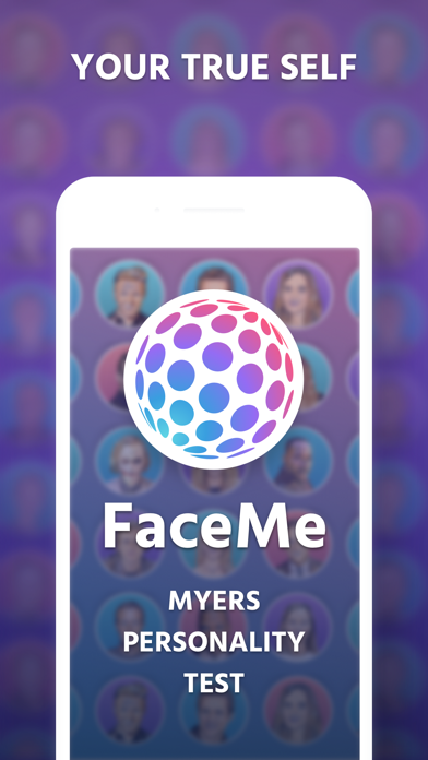 FaceMe: Myers Personality Test for Windows