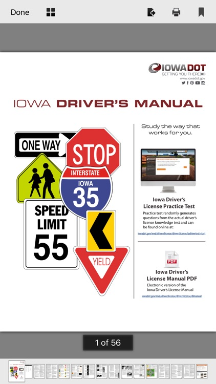 Iowa DMV Test Prep screenshot-7
