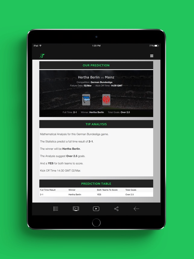Betting Tips on the App Store