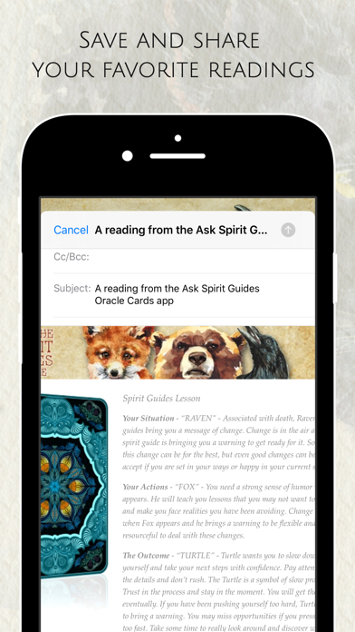 Ask the Spirit Guides Oracle screenshot 9