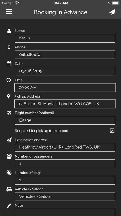 TX Cars - Taxi & Chauffeurs screenshot-3