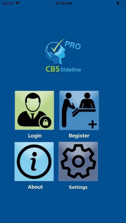 CBS Sideline Pro