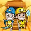ざくざくキング:採掘王国 (Idle Miner T.) - iPadアプリ