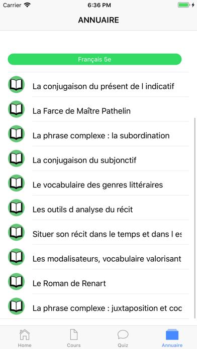 Français 5ème screenshot 6