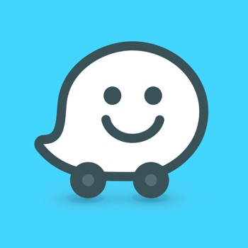 Waze Navigation & Live Traffic Logo