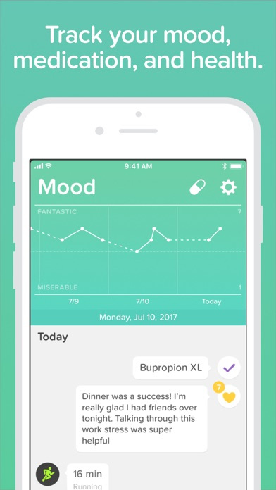 Wellness: Mood Meds & Health screenshot one