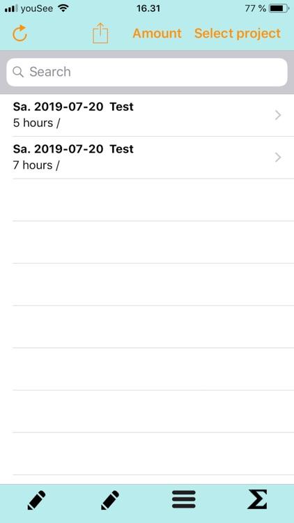 Time Recording - Easy screenshot-3