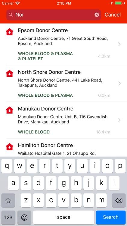 NZ Blood Service Donor App screenshot-3