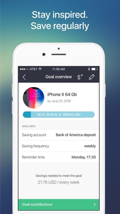 Money Box - Savings Goals App