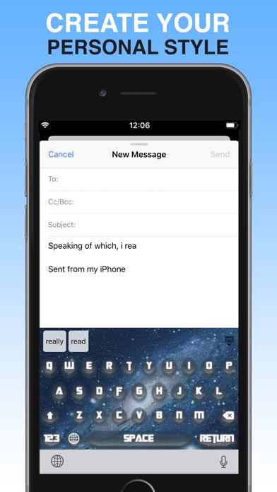 Keyboard - PimpKey screenshot 2