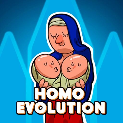 Homo Evolution iOS App