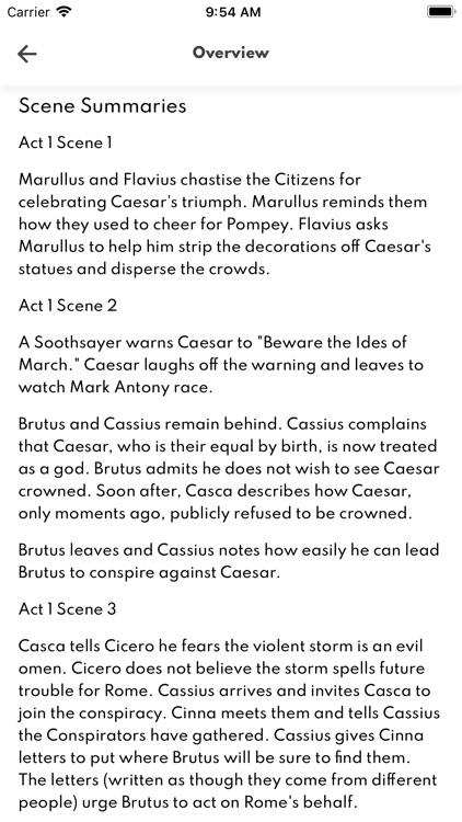 Julius Caesar Full Audio screenshot-6