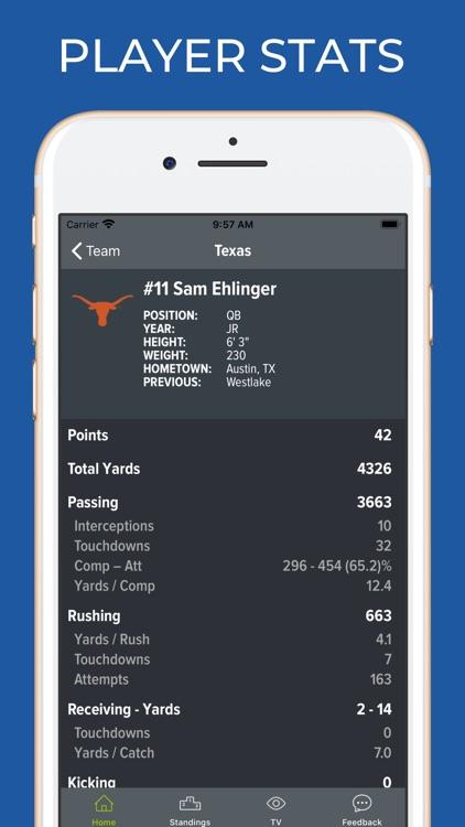 UT Texas Football screenshot-3
