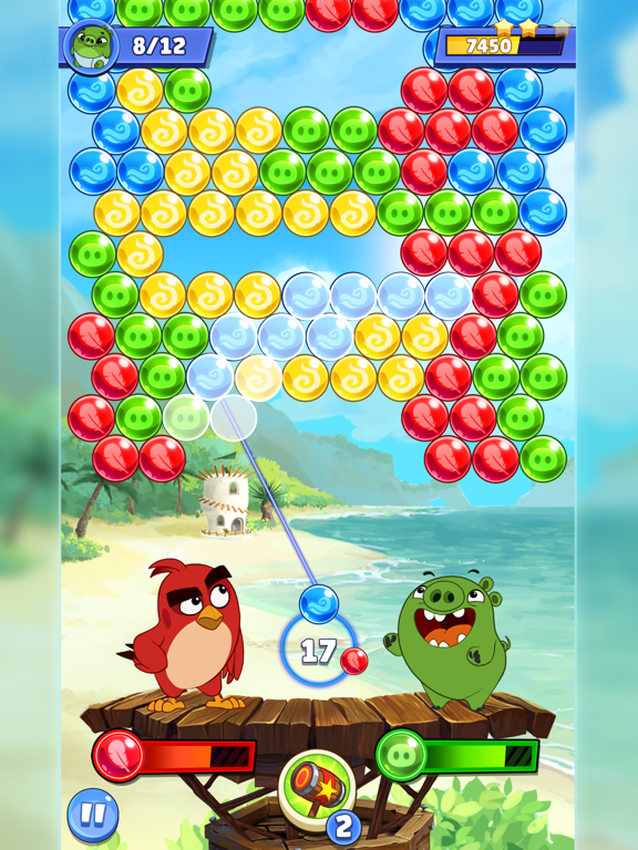 Angry Birds POP 2 screenshot 13