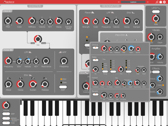 Laplace Synthesizer